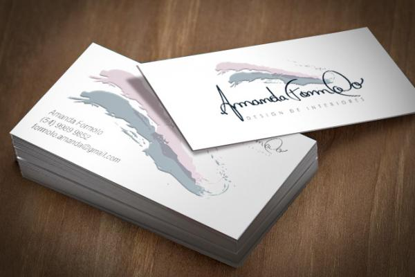 Business Card - Amanda Formolo