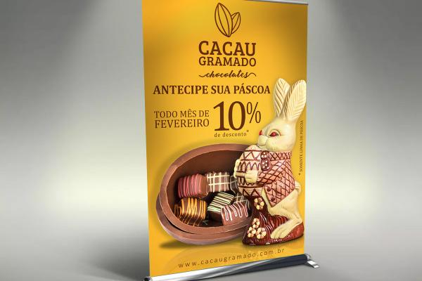 Roll-up Banner - Cacau Gramado