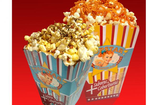 Packaging - PopStar Popcorn